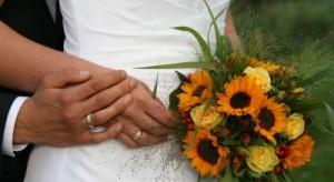 Ein Brautstrauß ist heutzutage fast immer Teil einer Hochzeit.
