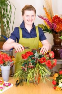Als Florist muss man kreativ und eigenständig sein.